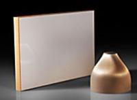 錐形光纖和面板