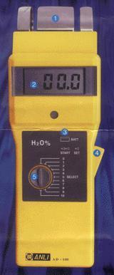 电磁波木材含水率测定仪 AD100