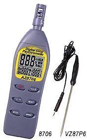 温度/湿度/露点/湿球温度仪AZ-8706  AZ-8706