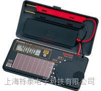 太阳能充电式数字万用表 PS8a
