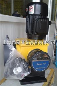 美國米頓羅計量泵GMA系列機械隔膜計量泵