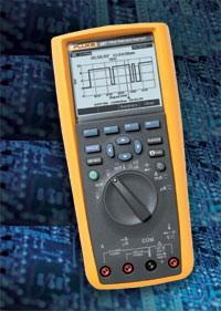 真有效值电子记录万用表 F287C F287C