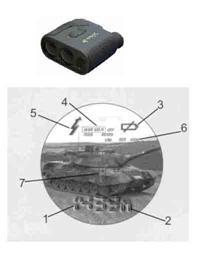 LRM1200/1500/1500SPD/2000/2500/2500CI单筒手持式激光测距仪/测速仪/测高仪/测角仪 LRM系列
