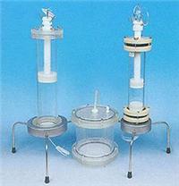 大型有机玻璃柱(带分布系统) 内径100-500mm,柱长50-100cm