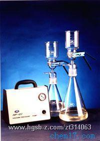 DL-01型真空溶剂过滤器(流动相真空过滤装置 带泵)