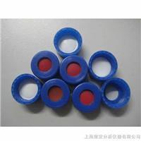 9-425蓝色开孔拧盖带白色PTFE/红色硅胶垫 V3209-09GD