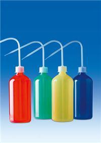 德国 vitlab 彩色洗瓶,PE-LD/PP