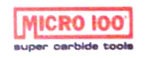美国微佰MICRO-100刀具
