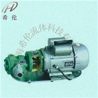 手提式齿轮油泵 WCB