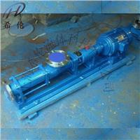 污泥螺杆泵 G型