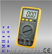 VC890C+|VC890D|VC890T手动量程数字万用表 VC890C+|VC890D|VC890T