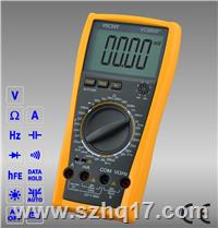 VC9806+|VC9807A+|VC9808+手动量程数字万用表 VC9806+|VC9807A+|VC9808+