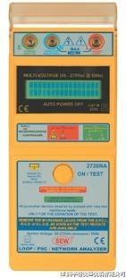 2726NA回路阻抗及预期短路电流测试仪2726NA|2726NA 2726NA