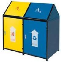 CN283户外环保分类垃圾桶