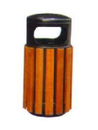 WG-20钢木垃圾桶