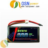 7.4V 800MAH 10C Li-poly battery pack