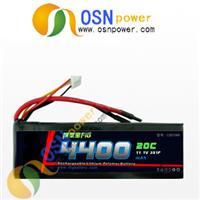 20C 7.4V 4400MAH Li-poly battery pack