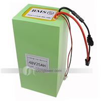 48V(51.8V) 25Ah Li-ion Scooter Battery Pack