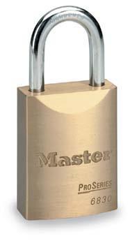 6弹子进口铜挂锁 Master lock,6850KAMCN,6830KAMCN,6弹子,同花