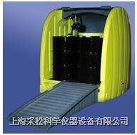 四桶式卷帘型防漏柜 4064-YE-D排污口