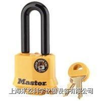 包塑防风雨挂锁 Master lock,311DLH,312DLH,315DLH,51mm长锁钩