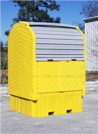 集装桶硬顶防渗漏隔间 1162,1161