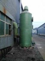 河南电厂改造130t氨法烟气脱硫塔/湿式静电除尘器设计方案