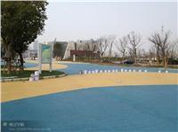 最好的艺术透水地坪,最漂亮彩色地坪铺装,透水混凝土,艺术地坪 RL