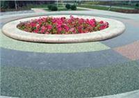 杭州透水混凝土,常州彩色透水混凝土,生态透水彩石 RL