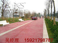 上海拜石 彩色地坪;彩色混凝土;透水地坪胶结料 BES-82