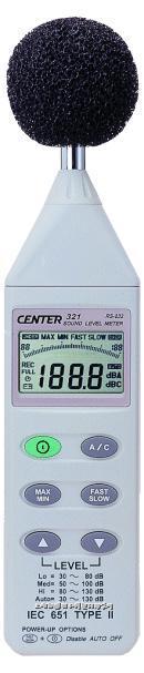 台湾群特数字式噪音计(RS232) CENTER-321