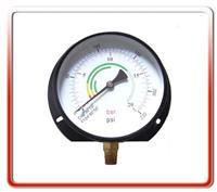 150MM径向带后边气压表  150QL-PA001