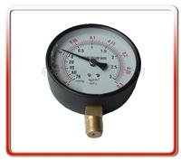 100MM径向真空压力表 100QL-PZ001