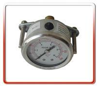 50MM轴向带支架耐震油压表  50UL-UD01