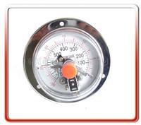 100MM耐震真空电接点压力表 100DX-ZD001
