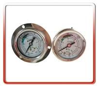50MM轴向冷媒油压表  50LM-LB001