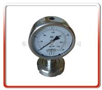 螺母式隔膜压力表 YTP100-MN