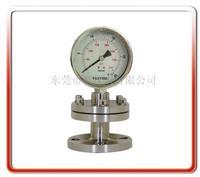 工字型隔膜压力表 Y100BF-MG