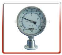 100MM卫生型真空压力表 YTP100-MC