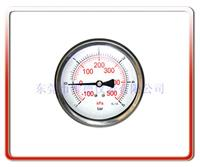 100MM轴向耐震真空负压表 100UL-BZ003