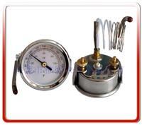 50MM带安装支架液体膨胀式温度计 WZK-50