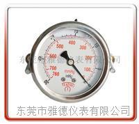 60MM轴向带支架真空油压表 60UL-ZD001