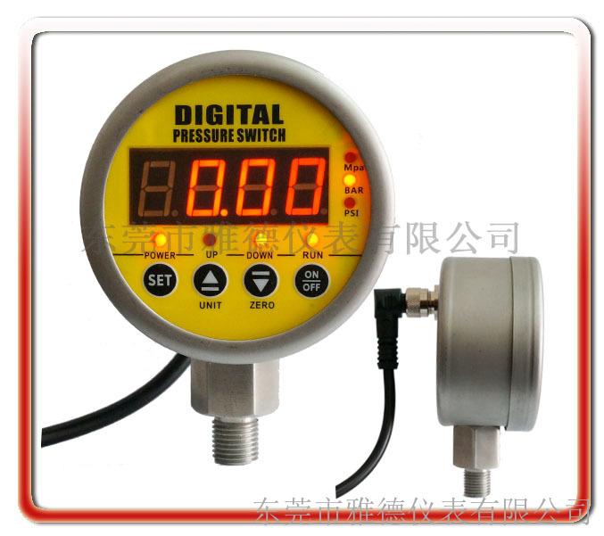 全不锈钢数显式电接点压力表 ydsx-005