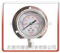 60MM径向带后边全钢压力表 60US-SA001
