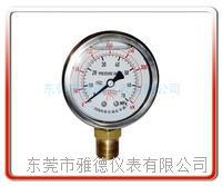张拉油缸专用耐震表 不锈钢压力表 充油压力表 耐震压力表 YN60-300KN