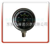 50MM径向医用微压表 医用膜盒压力表  WYE50-YL002