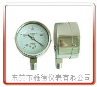 60MM径向微压表 膜盒压力表 调压箱压力表   膜盒压力表 呼吸机压力表 WYE60-L01