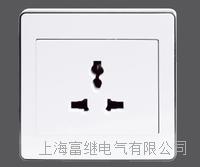 JCCZ2-2B1-1A一位多功能插座 JCCZ2-2B1-1M