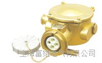 TJCZS2-2/1I5船用铜质大电流水密插座 TJCZS3-2/1I5