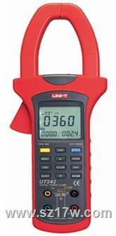 UT242电力钳形谐波功率计 UT242  参数  价格  说明书